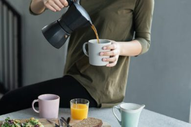 Vriesdroog koffie